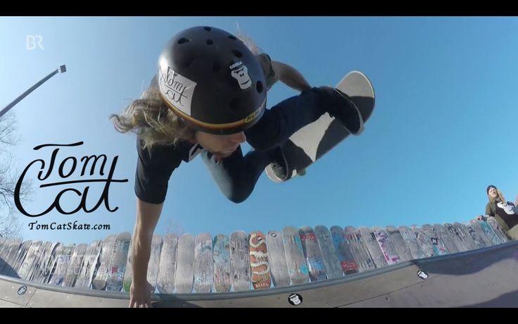 Tom Cat Skateboarder BR I Bayerischer Rundfunk Heimatrauschen Bayerische Skateboard Decks M?nchen