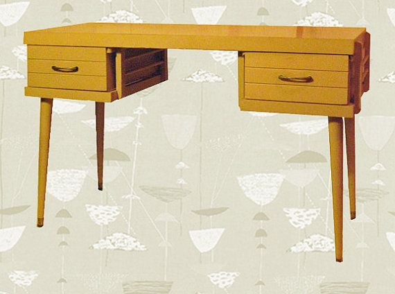 Blondes Have More Fun 1950's Desk by Omforme on Etsy, $350.00