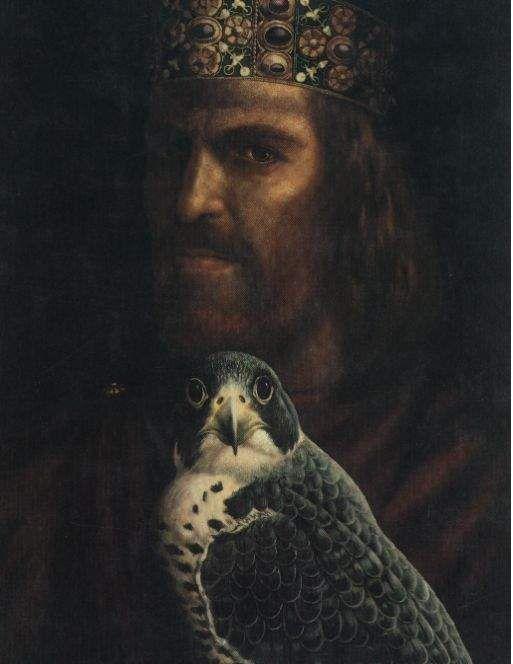 Federico II di Svevia bisavolo di Federico III di Sicilia. Imperatore del Sacro Romano Impero Federico II Hohenstaufen fu re di Sicilia, Duca di Svevia, re di Germania e Imperatore del Sacro Romano Impero, e quindi precedentemente Re dei Romani, infine re di Gerusalemme.