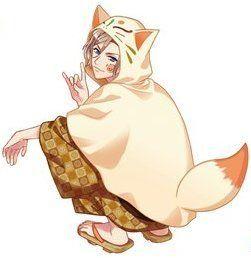 『A3!』×『太鼓の達人』コラボよりイラストが公開!狐フードに浴衣という可愛い組み合わせ! - にじめん