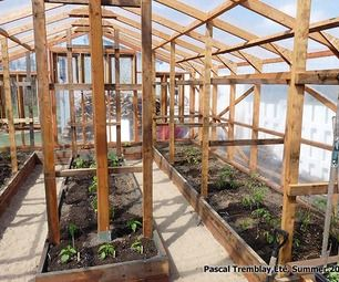 Greenhouse - Guide to build a wood greenhouse at home-