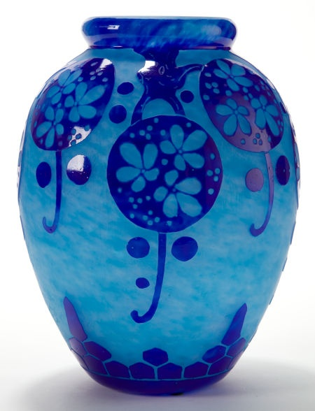 prior pin: Charles Schneider Glassworks, Épinay-sur-Seine, France, circa 1923-1926
