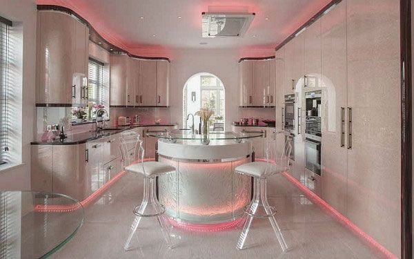 Girly kitchen design super cute cutesie and girlie for Super small kitchen ideas