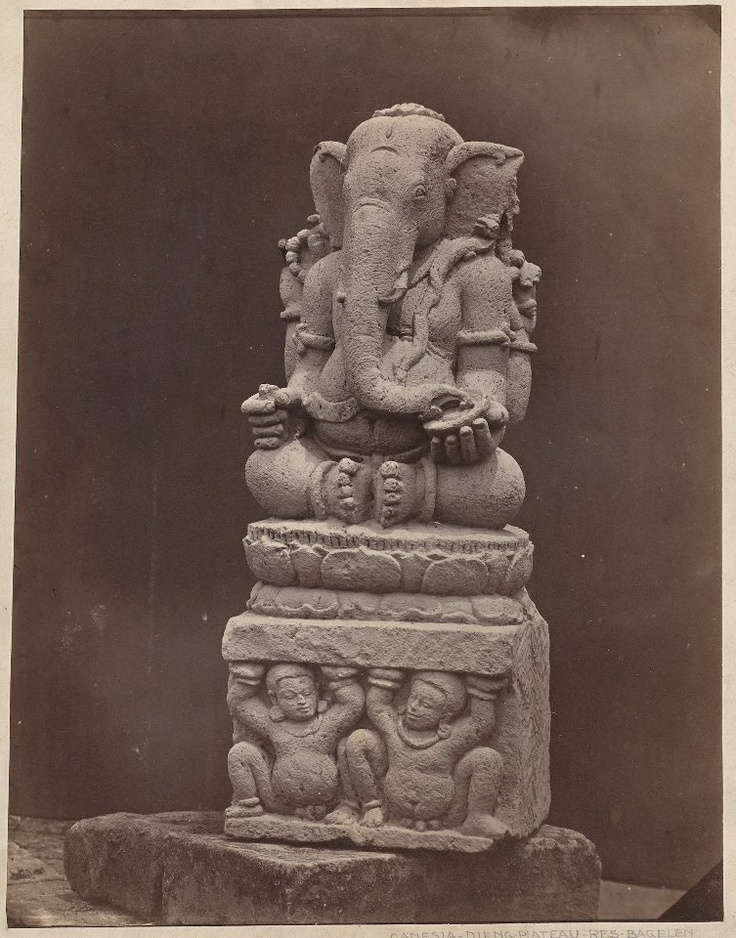 Ganesh statue; Java, ca. 1850