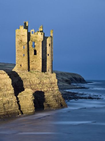 Old Keiss Castle, Caithness, Between John O'Groats and Wick, Scotland, United Kingdom Edwardes Guy