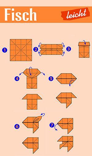 12 best origami f r kinder images on pinterest basteln. Black Bedroom Furniture Sets. Home Design Ideas