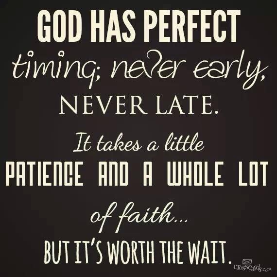 """BLOG POST: The Best is Yet to Come--""""God is concerned about every detail concerning my life. I must simply trust that He is at work. There is a season for everything. God has not forgotten me. He is an on-time God."""" http://inspirationsofsade.blogspot.com/2014/01/hello-2014-best-is-yet-to-come.html"""