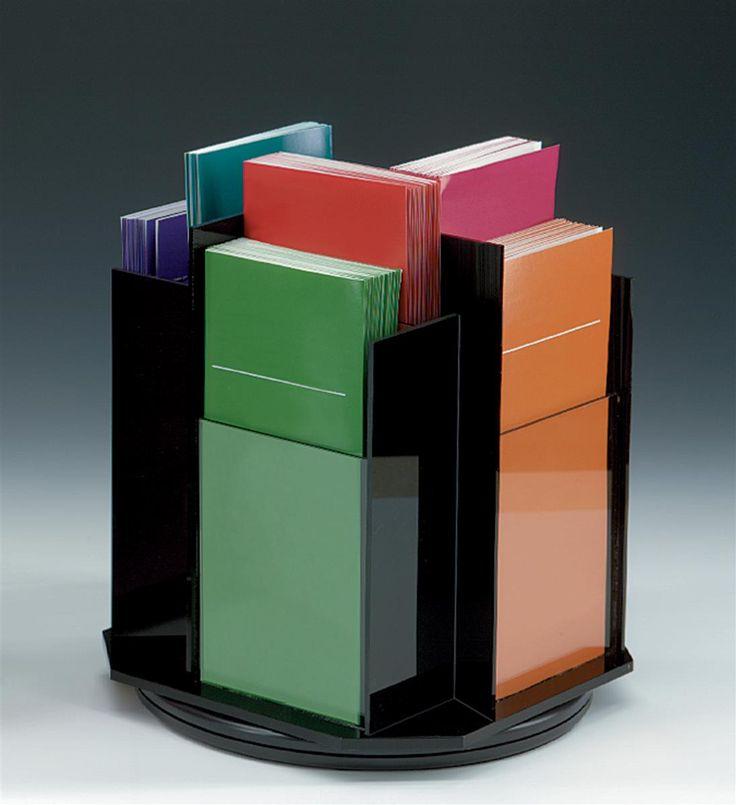 Workshop Series 8 Pocket Acrylic Brochure Holder 4 W Tabletop