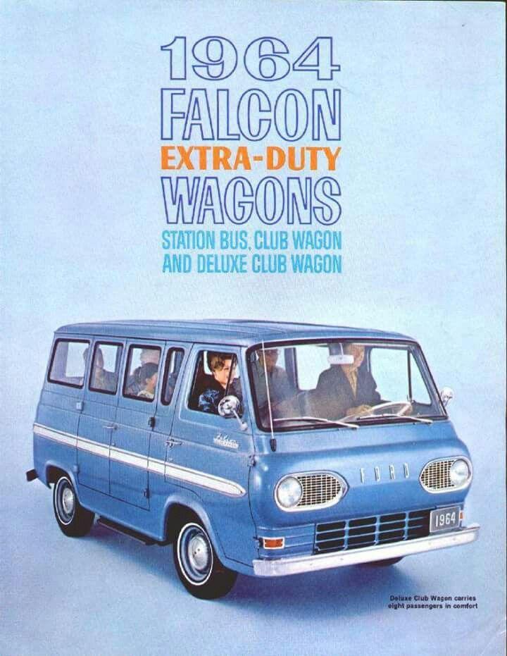 Ford Falcon Wagons 1964