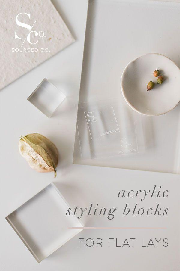Acrylic Styling Blocks Place Card Holders Acrylic Wedding Business