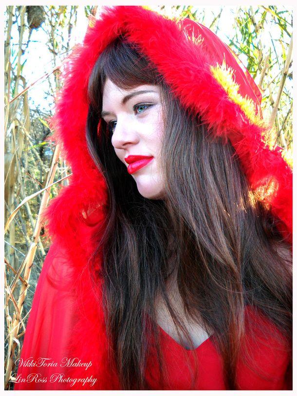 #Halloween #makeup #art inpsiration #LittleRedRidingHood #motd www.vikkitoria.com #charactermakeup