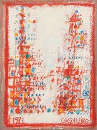 Sans titre by Manuel Cargaleiro; 1983; at Artnet