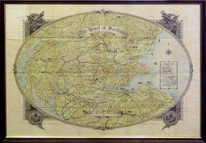 The Heart of Scotland. GLENEAGLES by Johnston, W & A.K