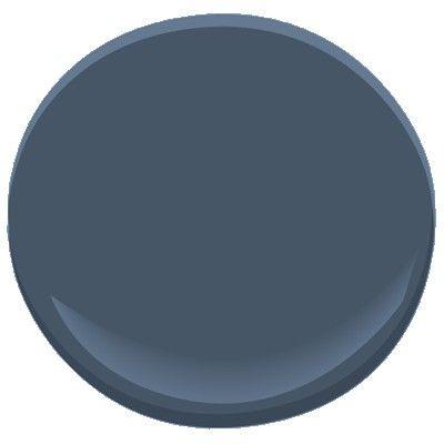 Newburyport Blue HC-155 Paint - Benjamin Moore Newburyport Blue Paint Color Details