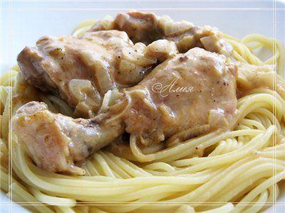 194. Гедлибже (курица в сметане по-кабардински)