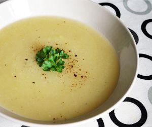Celeriac Soup: 30 Kcals Per Serving