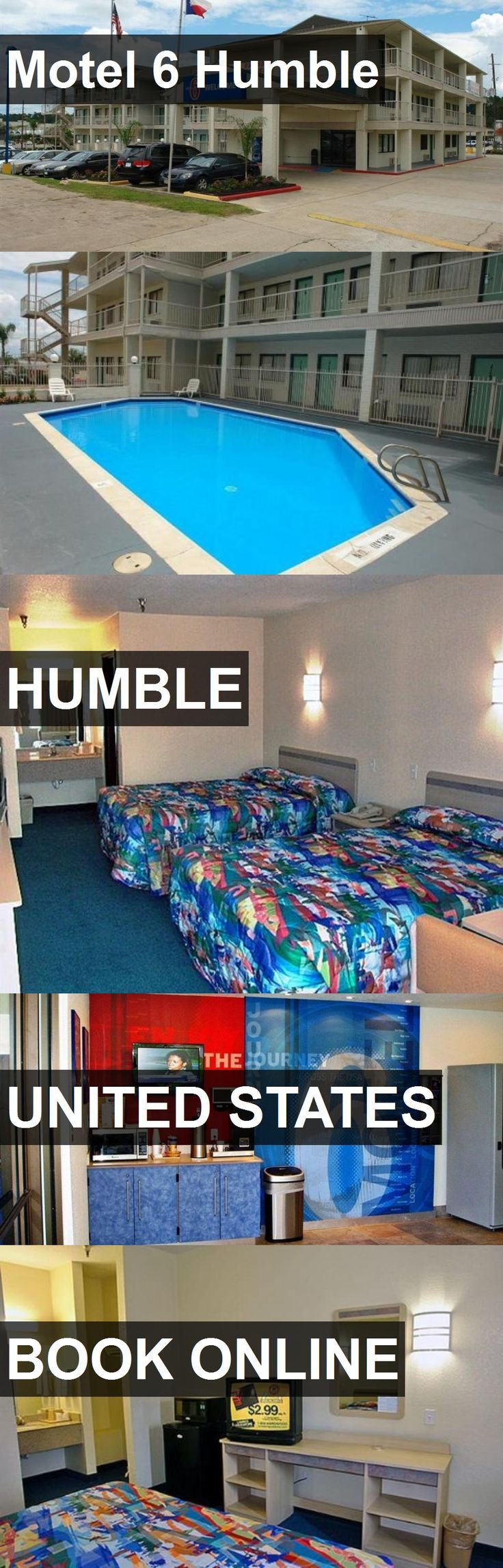Hotel Motel 6 Humble in Humble, United States. For more information, photos, reviews and best prices please follow the link. #UnitedStates #Humble #travel #vacation #hotel