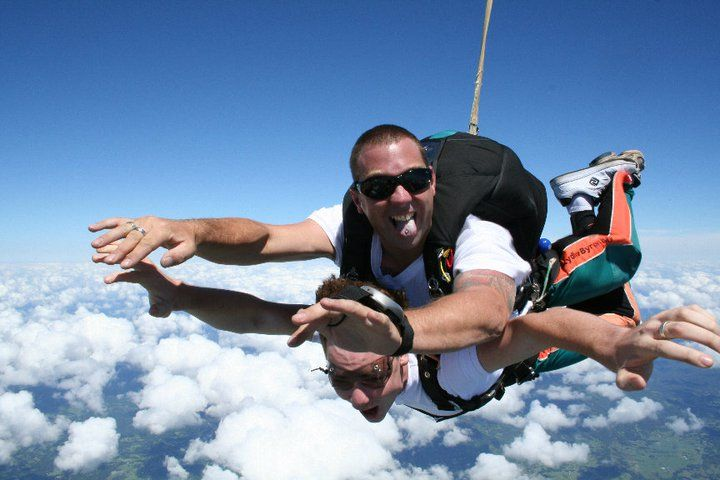 Imagine the adrenaline rush of jumping out of a plane into the great unknown. Our tandem skydive instructors get to do this every day! #SkydiveAustralia #tandemskydiving #skydive