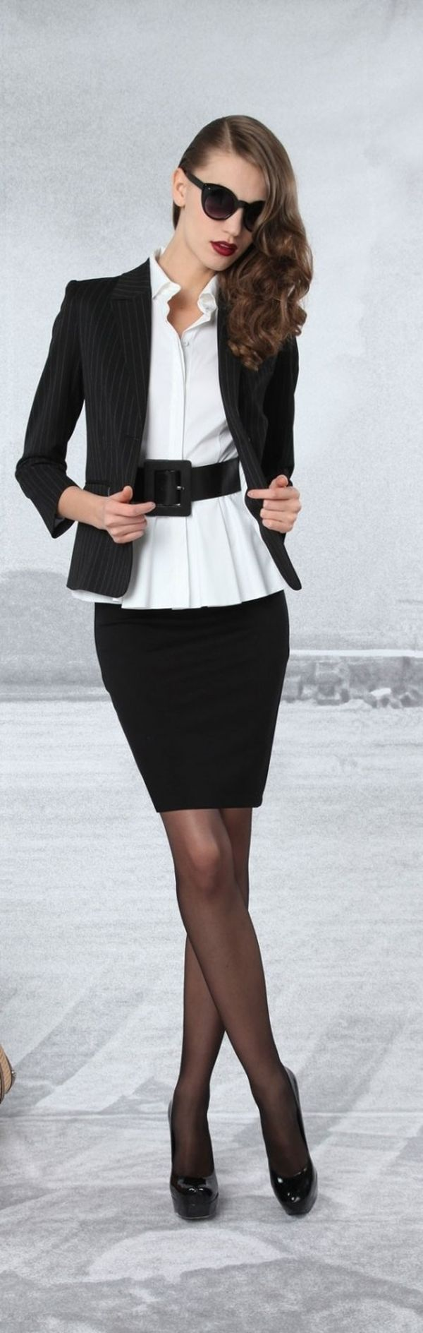 Chic Black And White Outfits To Wear - Exquisite Girl