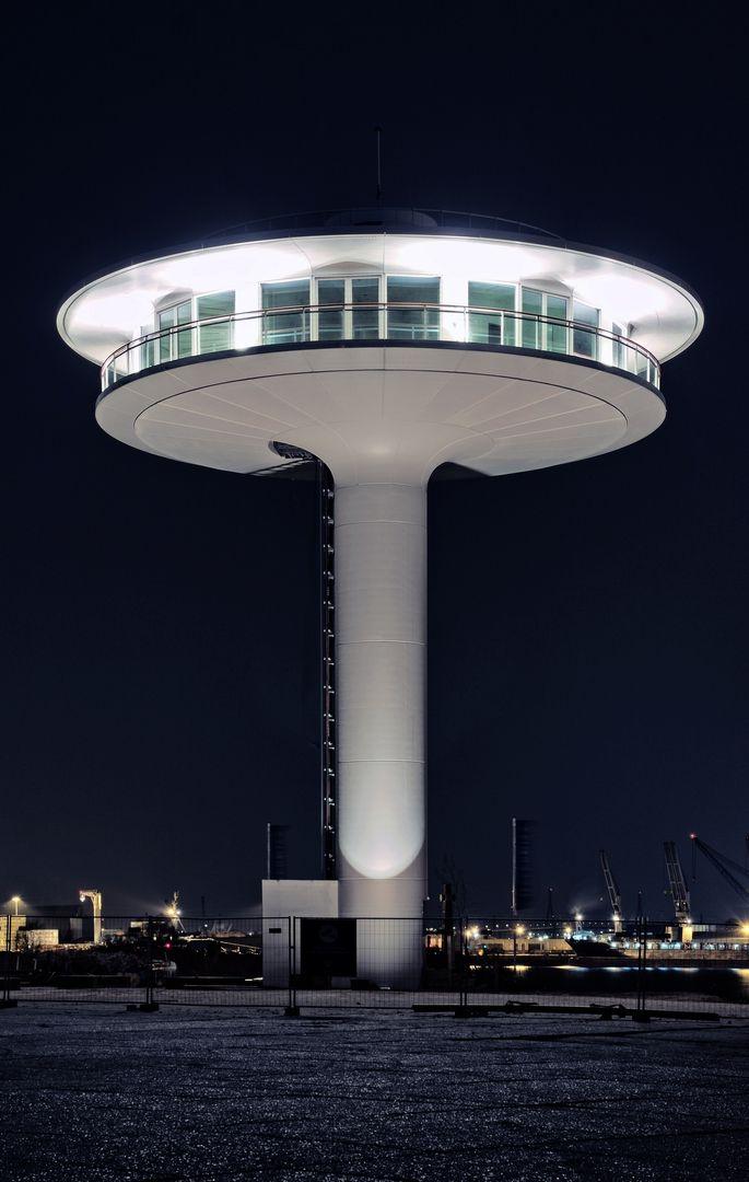 Wohnleuchtturm, Hafencity, Baakenhöft, Hamburg
