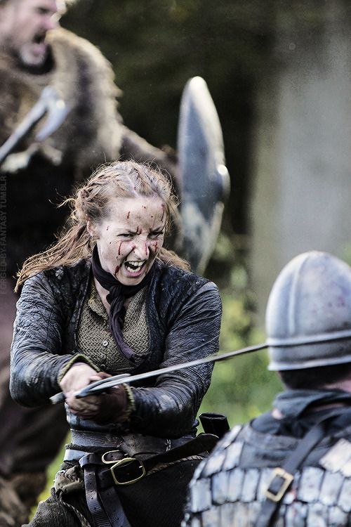 A Shieldmaiden was a woman who had chosen to fight as a ...
