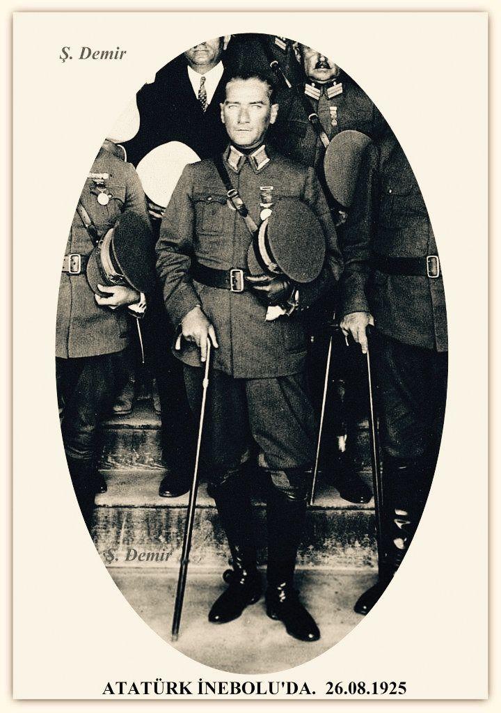Atatürk İnebolu'da 26.08.1925