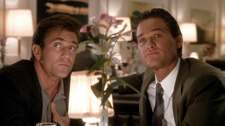 Mel Gibson and Kurt Russell | Tequila Sunrise [1988]