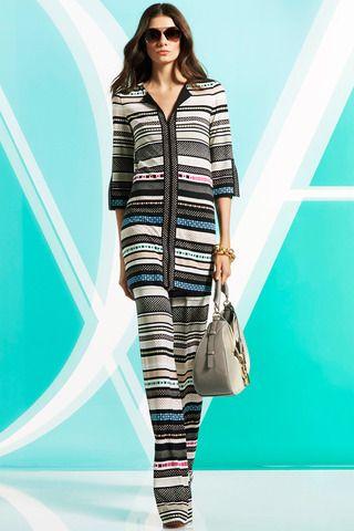 Diane von Furstenberg Pre-Fall 2014 Collection Slideshow on Style.com