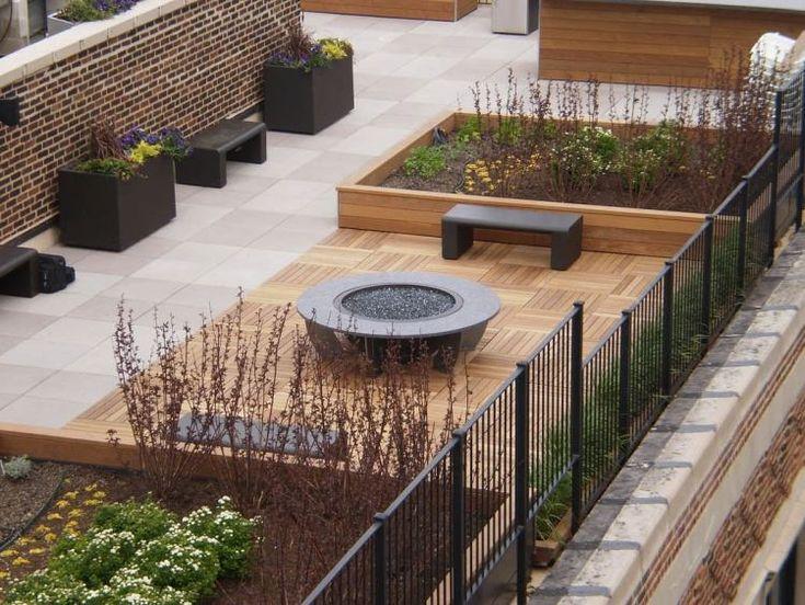78 Bedste Idéer Til Balkonfliesen På Pinterest | Fliesen Terrasse ... Balkon Fliesen Holz Outdoor Ideen