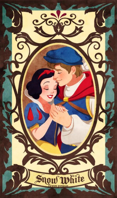 *SNOW WHITE & PRINCE FLORIAN ~ Snow White and the Seven Dwarf's, 1937