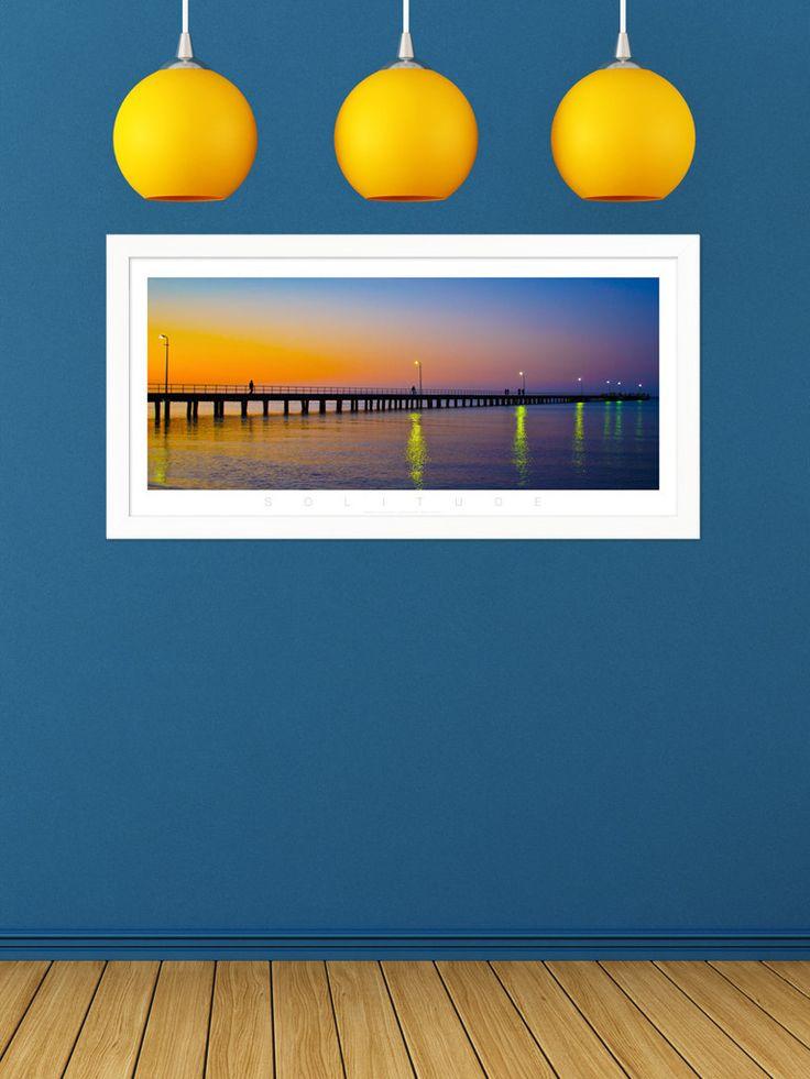 Solitude Rosebud Pier Colour Panoramic