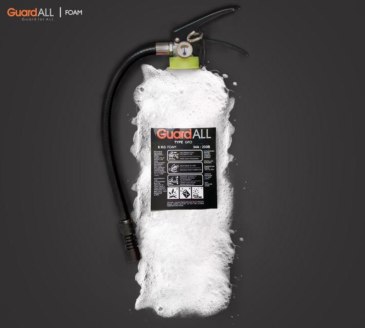 Media foam digunakan untuk system proteksi kebakaran di industri oil and gas karena sangat cepat dalam memadamkan api yang bersumber dari minyak.