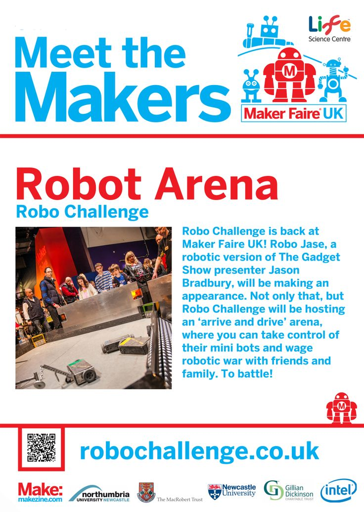 Robo Challenge at Maker Faire UK 2014