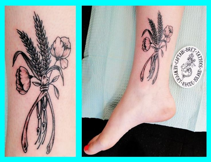 #flower #ankle #womens  #tattoo #tattoos #TattoosByCaptainBret  #celtic #celtictattoo #NewportRI #Newport #RI #tattooshop #tattoostudio #traditionaltattoos #coveruptattoos #navy #navynewport #navelacademy #newporttattoo #salvereginauniversity #rhodeisland #uri #usnavy #usmarines #usmc #nautical #watercolortattoos #watercolor #army #sailor #nauticaltattoos #rhodeisland