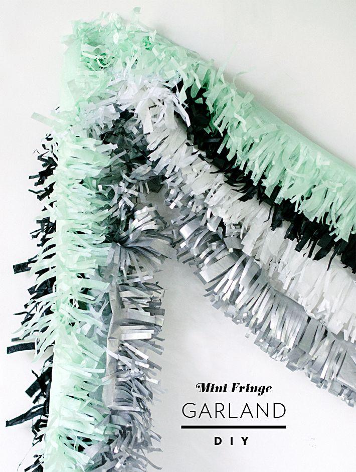 Mini Fringe Garland DIY | Mara Dawn