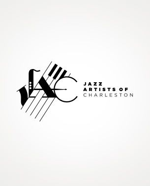 logo for the Jazz Artists of Charleston #logo #Identity #music