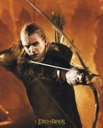 Poster Lord of the rings Le seigneur des anneaux Legolas 2