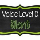 #sharethewealth #aneducatorslife FREE- Manage the noise/volume level in your classroom with these FREE Voice Level Posters.    Voice Level 0: Silent Voice Level 1: Whisper Voice Level 2:...