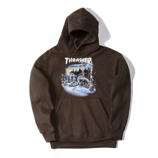 Thrasher Wolf Hoodie