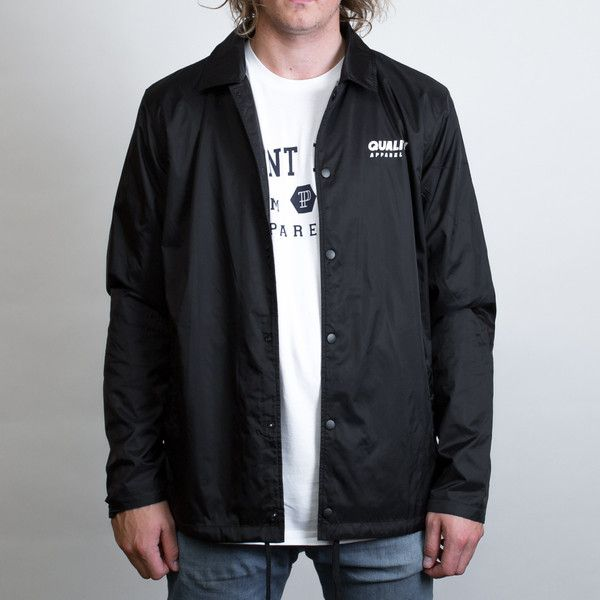 AS Colour Coach Jacket Leavers Gear - The Print Room NZ - Black