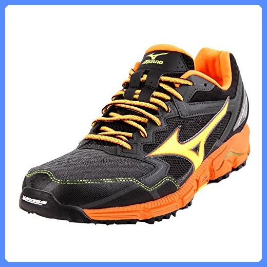 Mizuno Wave Daichi 2 Running Shoes orange/black Size UK 10 (EU 44,5) 2017 sport shoes