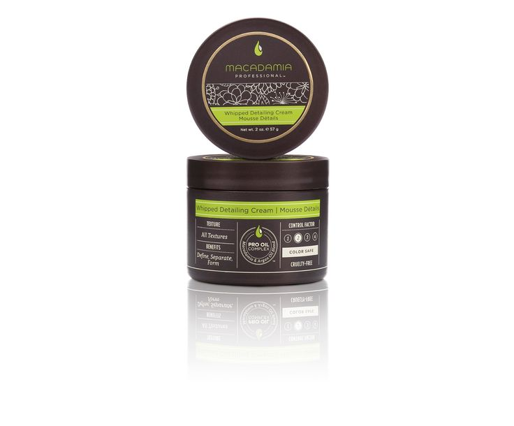 Macadamia Professional Whipped Detailing Cream | Mousse Détails 57g.