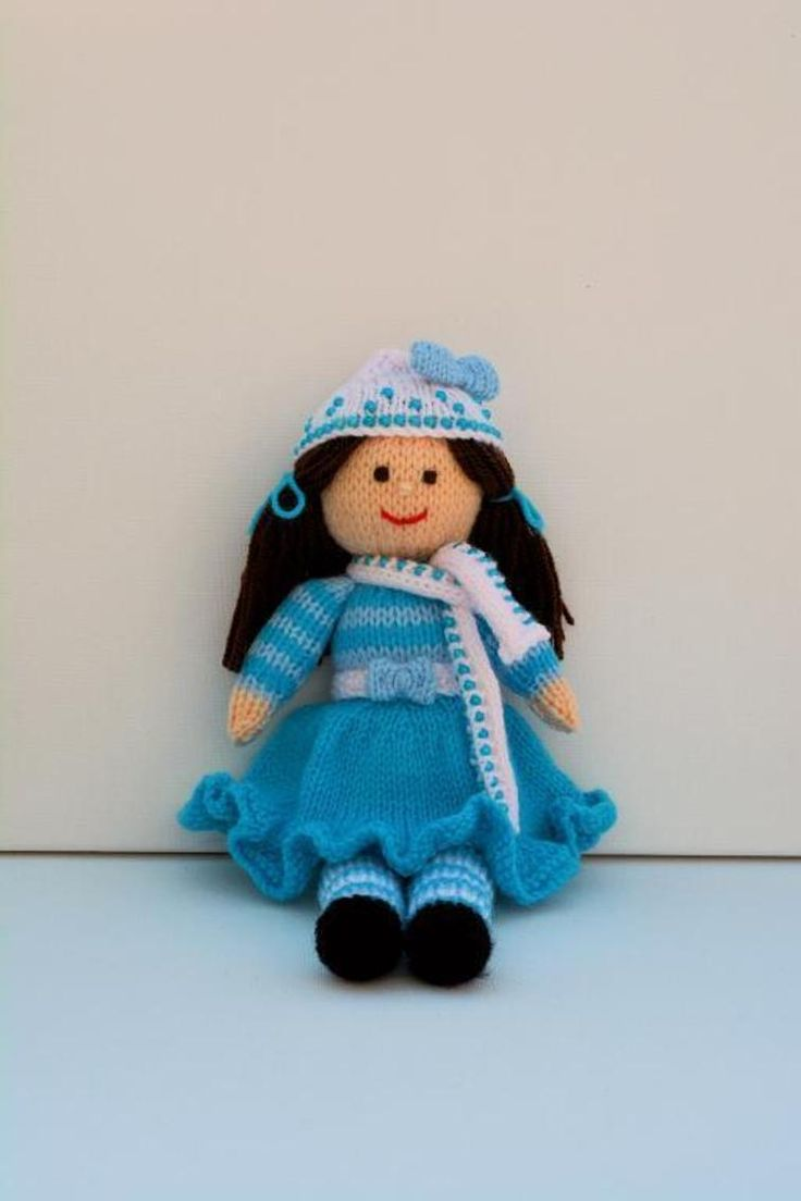 Pansy - A Winter Doll Knitting Pattern | Craftsy