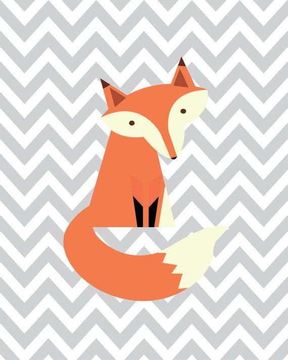 Stay Clever Little Fox Set of 3 Printable INSTANT by CraftMei