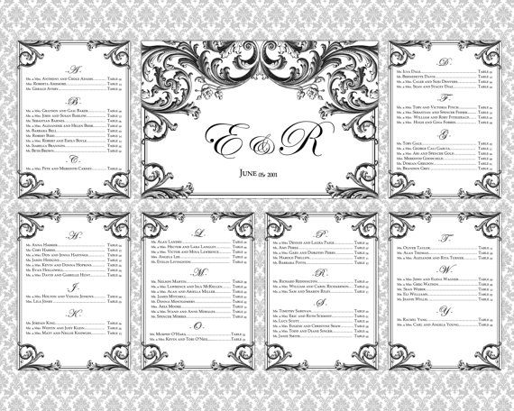 Wedding Seating Chart Template Mason Jar Blue Mint Rustic Word - free printable seating chart