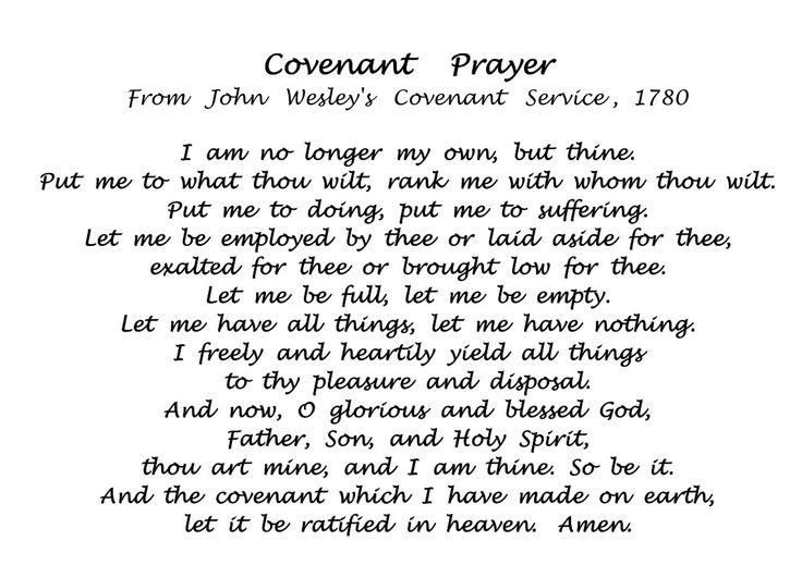 john wesley covenant prayer wesley pinterest john. Black Bedroom Furniture Sets. Home Design Ideas