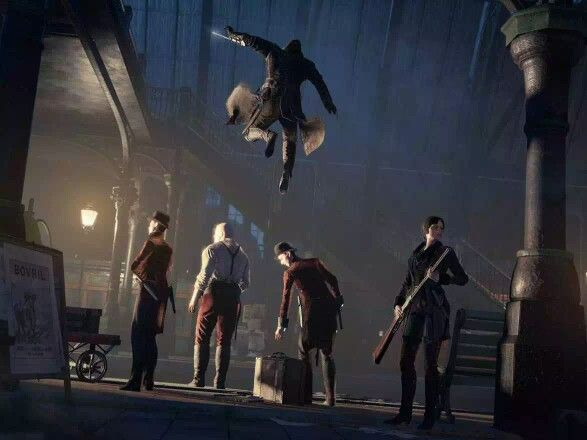 From the Assassin's Creed Syndicate.