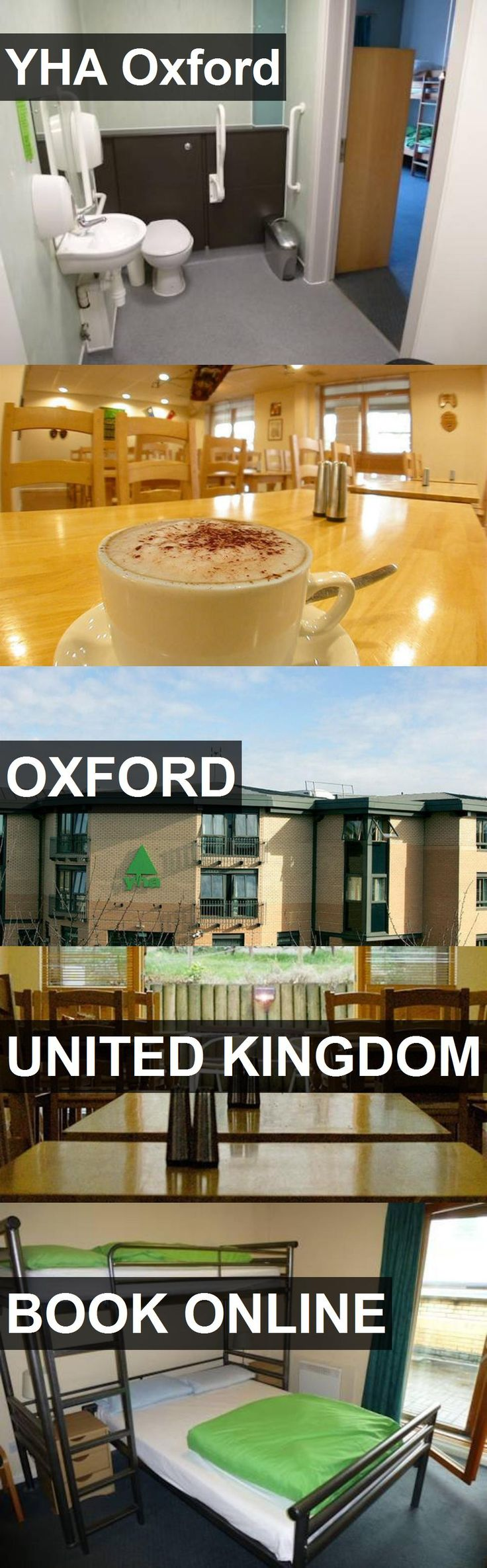 Hotel YHA Oxford in Oxford, United Kingdom. For more information, photos, reviews and best prices please follow the link. #UnitedKingdom #Oxford #travel #vacation #hotel