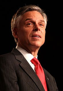 Jon Huntsman - a clear vision for global economic leadership, and leadership without narcissism.