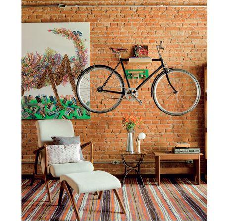 Bicicleta na decoração \o/